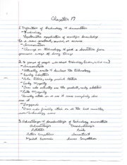MGMT 4340 CH 17 NOTES