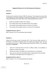 Suggested Solutions for the Self Assessment Questions Second Semester.pdf