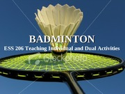 206Badminton: STUDENT Project