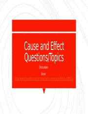 Cause and Effect Discussion Topics.pptx