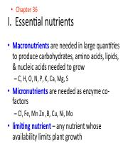 Ch36_Plant Nutrition