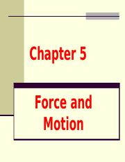 5-Force-and-Motion
