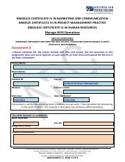 Manage WHS Operations_Assignment.pdf