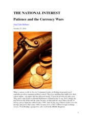 Currency War 27.10.2010