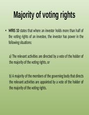 Majority of voting rights.pptx