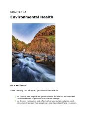 Chapter 15: Environmental Health.docx