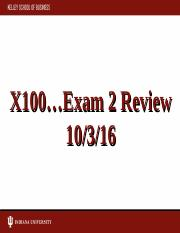 Exam 2 Review 2016_Fall_X100_Exam_2_review_post.ppt