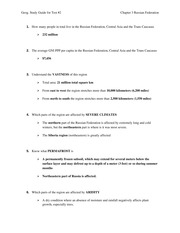 Test 2 study guide with answers