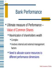 Bank Performance.ppt