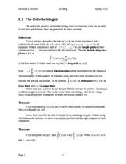 Calculus II Notes 5.2