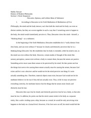 Philosophy Second Paper