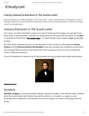 Literary Devices & Elements in The Scarlet Letter | Study.com.pdf