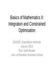 Lecture 02 - Integration and Constrained Maximisation - Student Version.pdf
