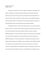 theatre and society paper