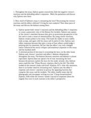 seton hall essay question