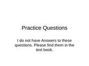 Practice Questions for final exam--202
