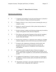 Chapter 17 Test - Computer Security3.docx