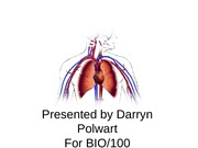 BIO 100 Week 5 Assignment 5a Human System Presentation