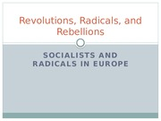 Radical Socialists in Europe