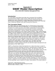 B - SWAT Model Description.doc