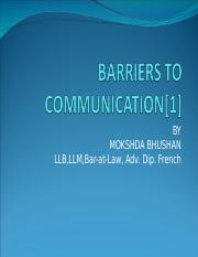 c2c1aLESSON 2 & 3- BARRIERS TO COMMUNICATION & COMMUNICATION PROCESS.ppt