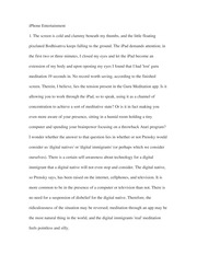 Essay on iPhone Entertainment