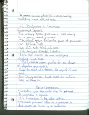 Development of Government Notes