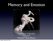 Emotion%20Lecture%209%202010%20Emotion%20and%20Memory