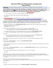 Elected Officials Preparation Assignment updated fall 2013-1.doc