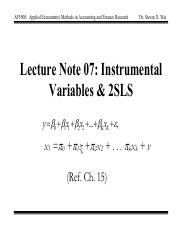 Lecture Note 07_2016
