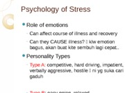 Lecture 27SV- Stress and Health