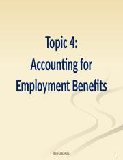 Topic 4 Employee benefit_A152.pptx
