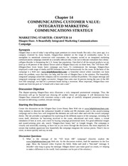 Marketing Principles Solution Manual Chapter 14