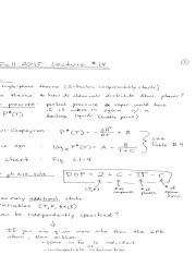 ChE10-16F-Lecture 14 Notes