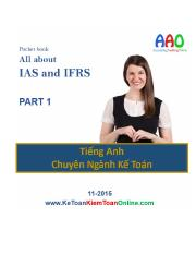 All about IAS & IFRS - PART 1 - by AAO