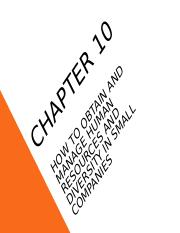 Chapter 10 - how to obtain and manage human resources.ppt