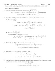 Exam solutions 3