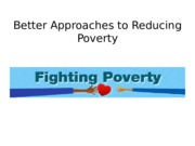 Lecture notes on Fighting Poverty: Mendenhall readings