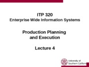 Lecture 4 - Production
