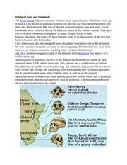 Origin of Apes and Hominid2
