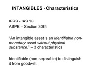 ACCT2004, Lecture Slides for Chapter 12, Intangibles, Part 1