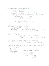 ECO251- Standard normal distribution probability notes