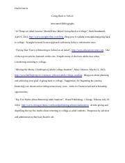 Final Annotated Bibliography - CGARCIA