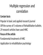 Multiple regression and correlation.pptx