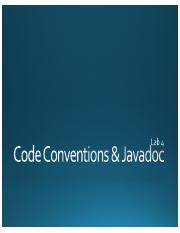 Code Conventions  Javadoc (Schoepp).pdf