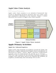 Apple Value Chain Analysis.docx