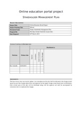 STAKEHOLDER MANAGEMENT PLAN.docx