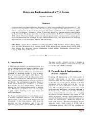 Design and Implementation Of A Web Forum.pdf