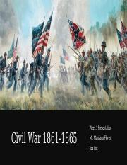 Civil War 1861-1865