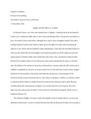 Sexuality in Ancient Greece and Rome Essay.docx